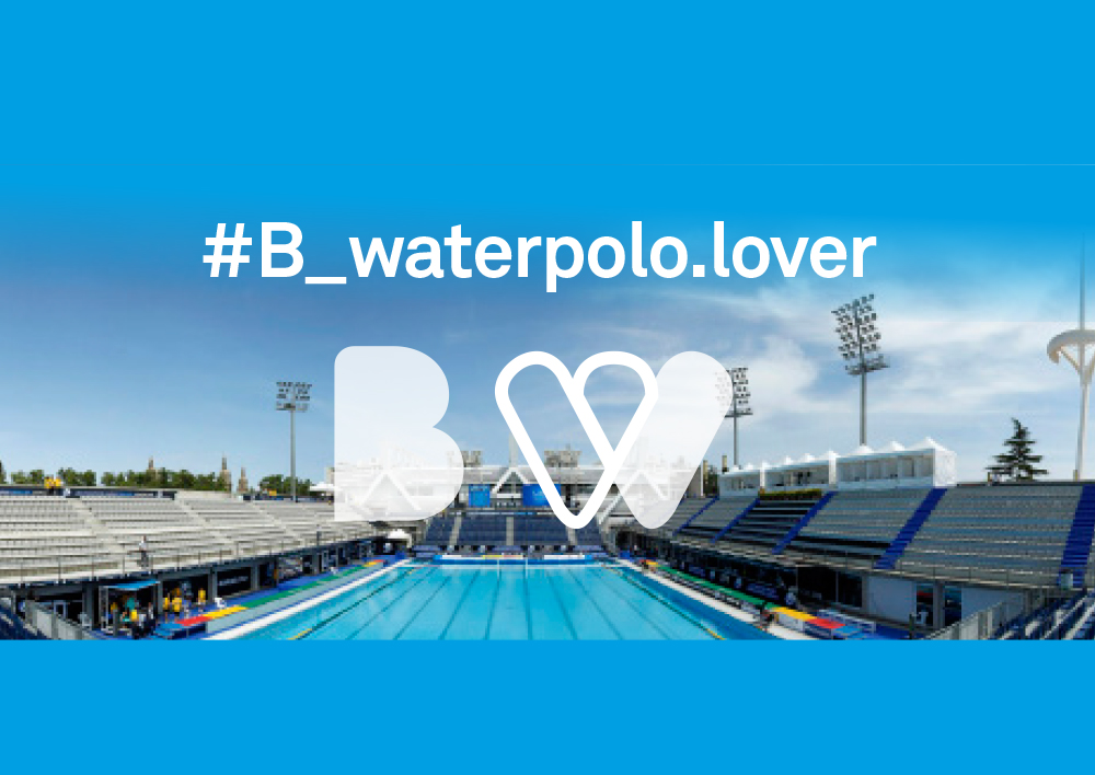 Finalist project, 33RD LEN EUROPEAN WATER POLO CHAMPIONSHIPS BARCELONA 2018 Branding and visual identity - Secondary slider