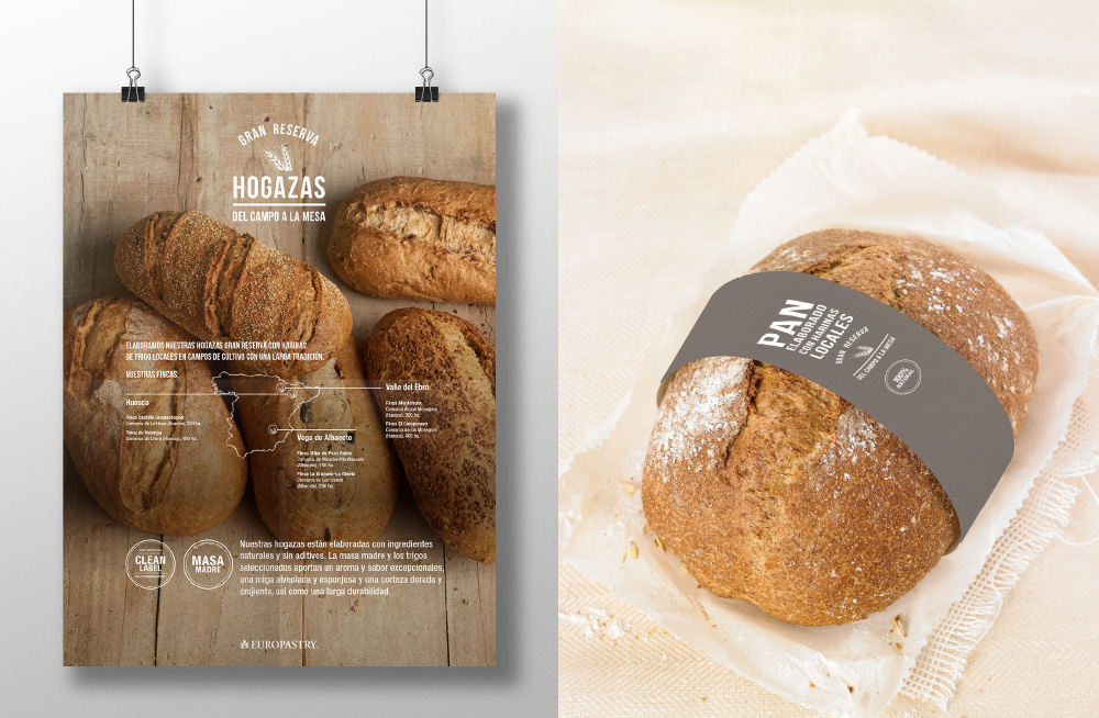 Europastry - Gran Reserva visual identity - Secondary images